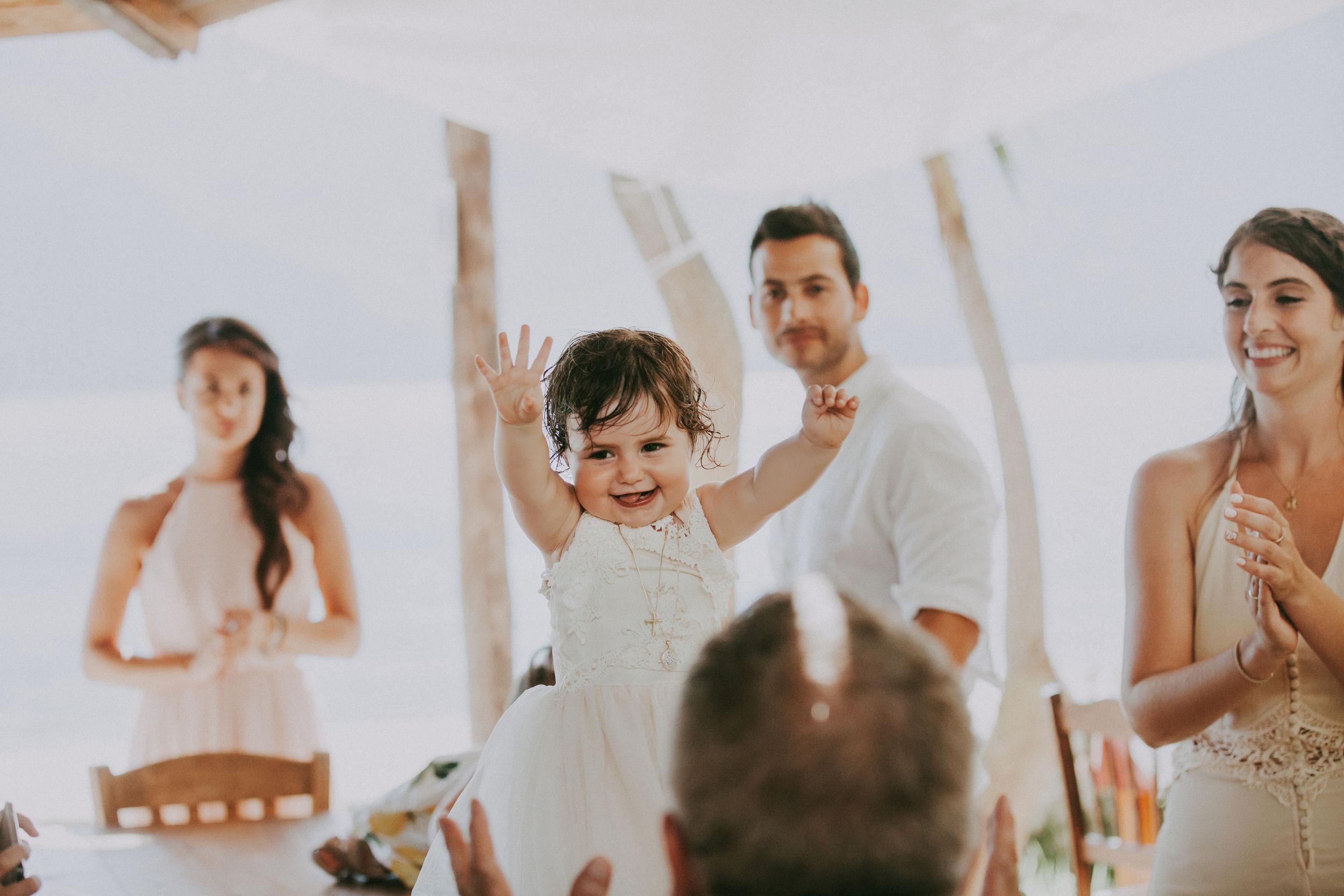 Lefkada wedding, Meganisi baptism